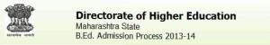B.Ed. admission 2013 maharashtra